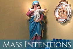 Mass Intentions Page